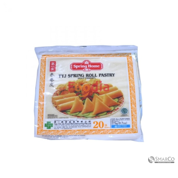 Tyj	Os Spring Roll Skin Pastry 8.5 20#pk* 275 Gr Tepung