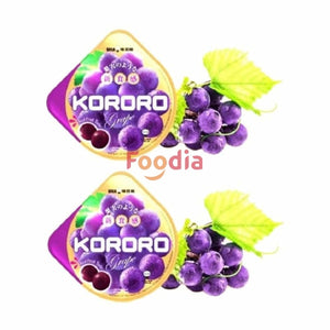 Uha	Kororo Grape Jelly Candy 240 Gr & Agar