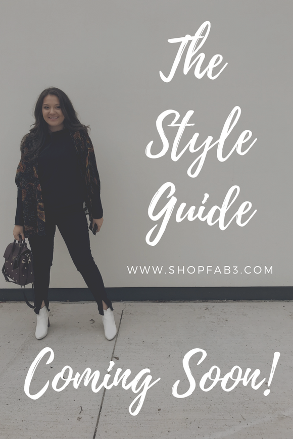 Welcome to the Style Guide!