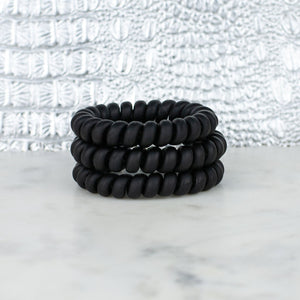 Hotline Hair Tie Matte Black