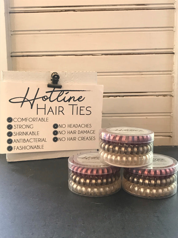 Hotline Hair Tie - Rose