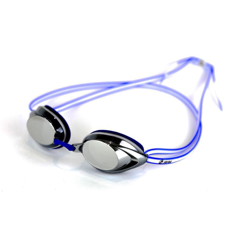 AqaGlyde™ Mirror Swimming Goggles - Blue/White