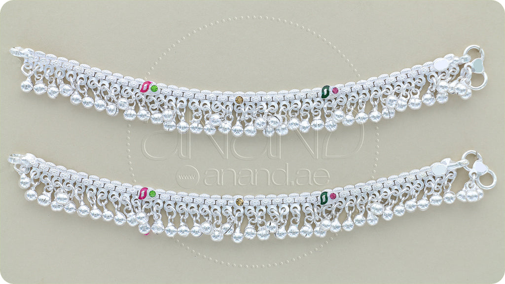 Silver Anklets for KIDS