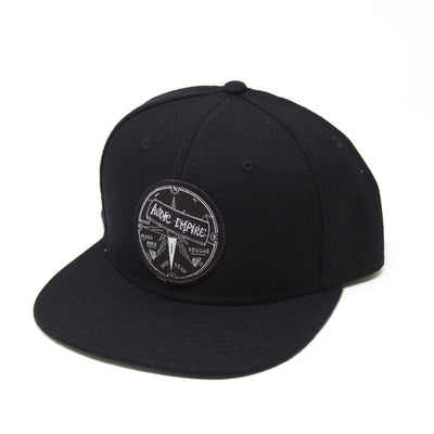 Audic Empire Black Snapback