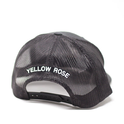 Yellow Rose Golf Trucker Charcoal