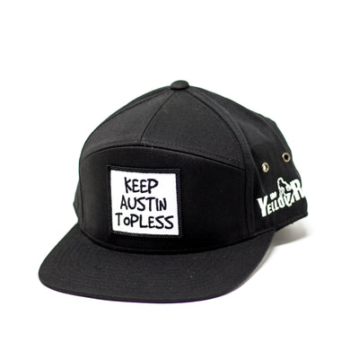 Keep Austin Topless 7 Panel