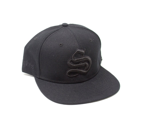 All Black Shakespeare's Snapback