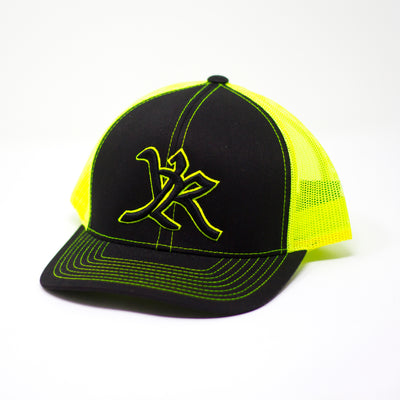 Yellow Rose YR Trucker Neon