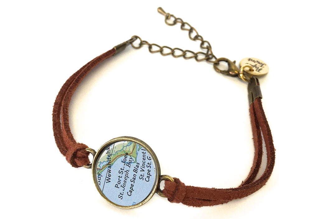 Exclusive Forgotten Coast Map Bracelet