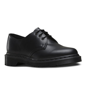 Doc Marten 1461 Mono 3 Eye Shoe Black Smooth
