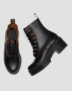 Doc Marten Leona Vintage Smooth Black