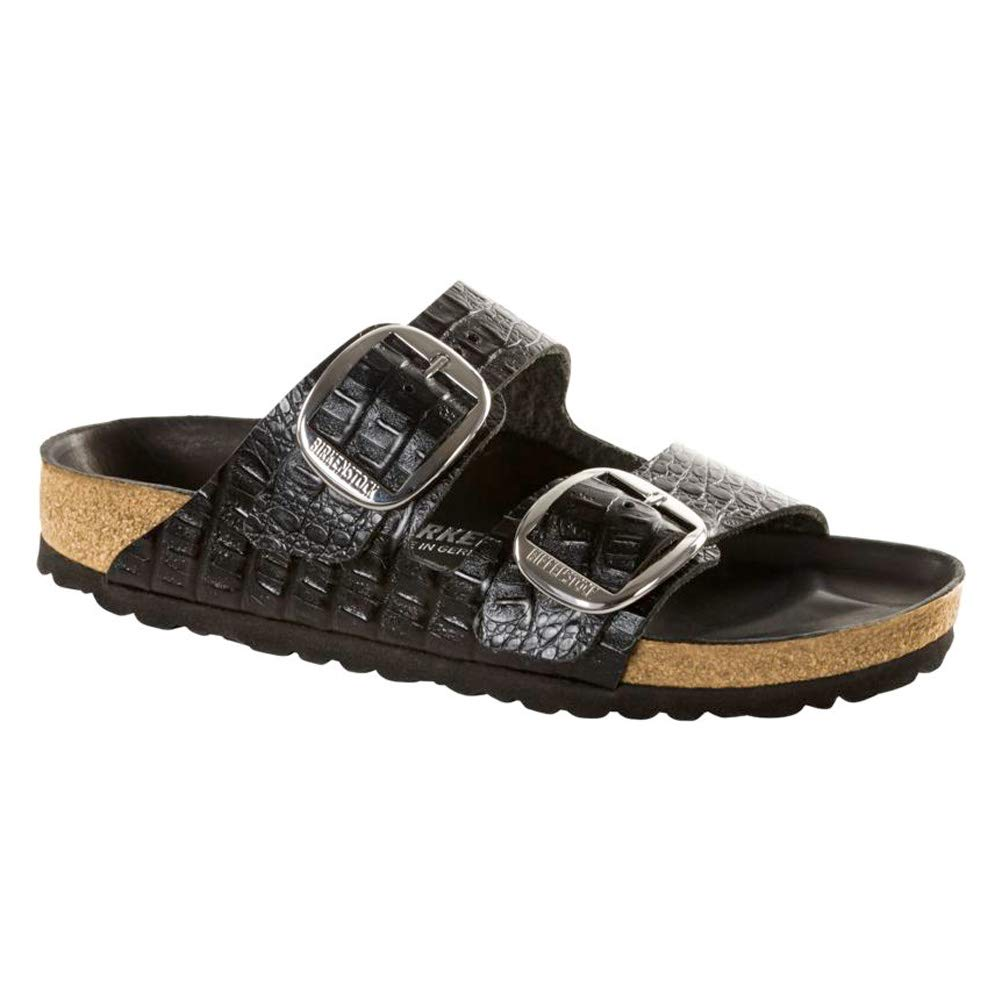 Birkenstock Arizona Big Buckle Gator Anthracite Narrow