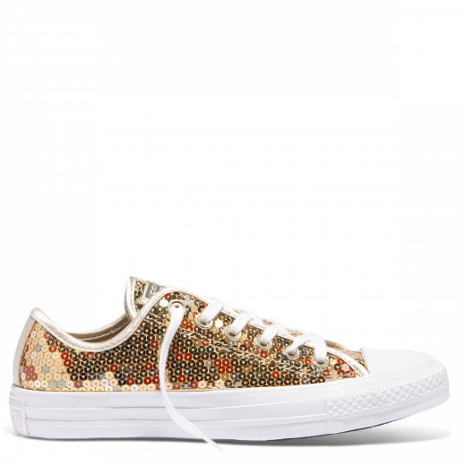 Converse CT Sequins Low Gold 562446