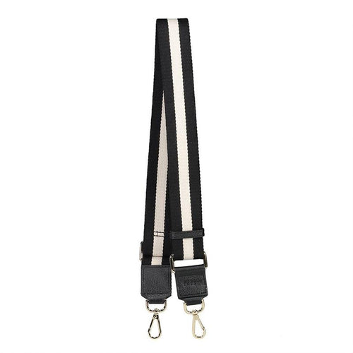 Saben Contrast Wide Strap Black/White