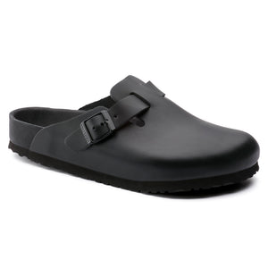 Birkenstock Boston Exquisit Black Leather