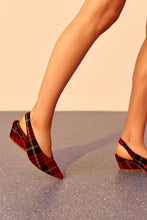 JAGGAR The Label Plaid Slingback Rose