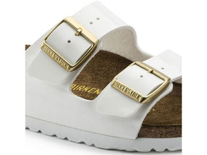 Birkenstock Arizona White Patent Narrow