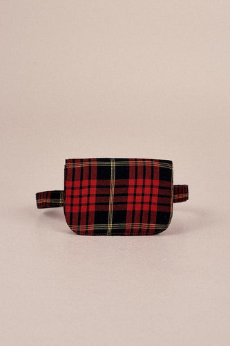 JAGGAR The Label Belt Bag Plaid Rose