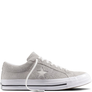 Converse One Star Suede Low White 161577
