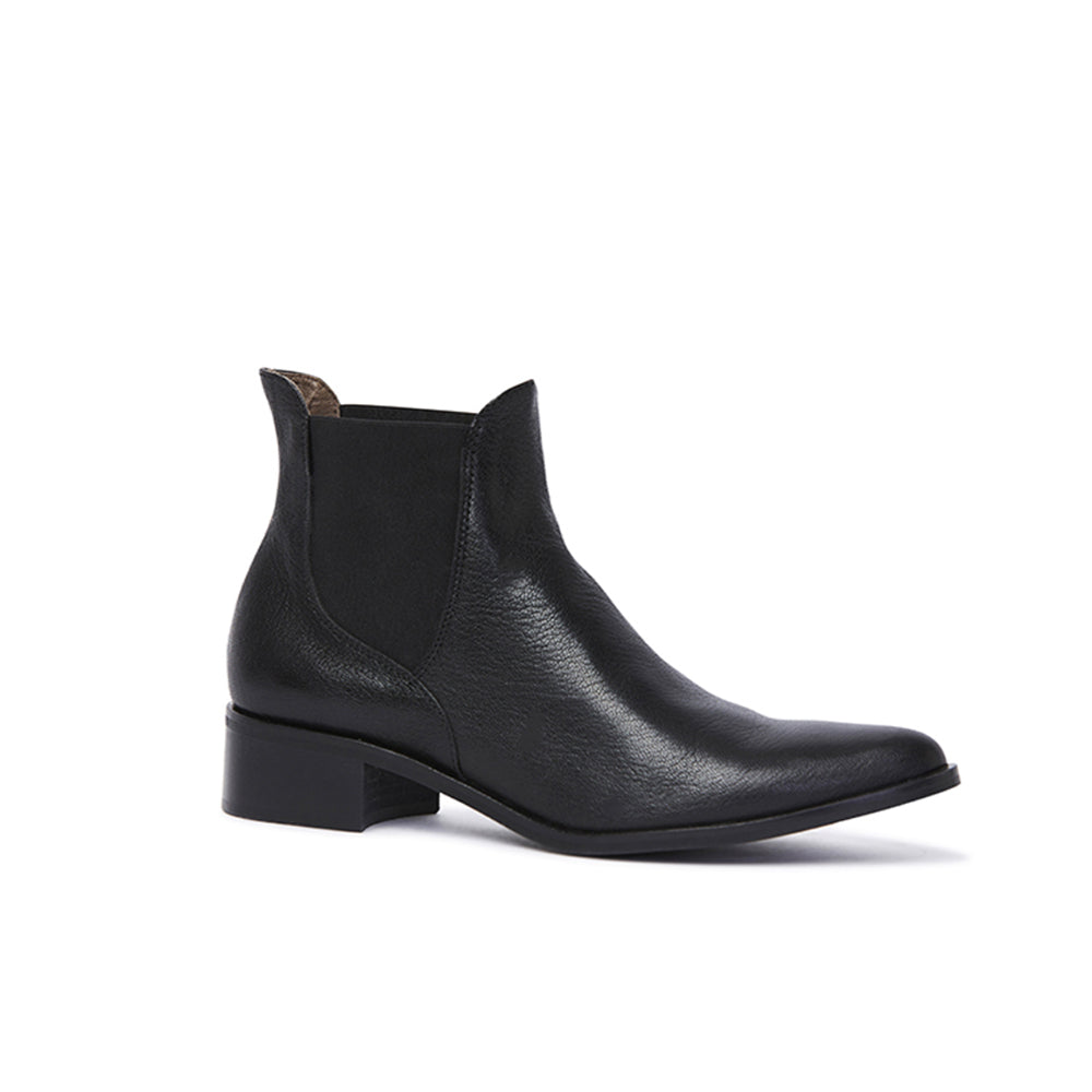 Kathryn Wilson Lucia Boot Black Calf