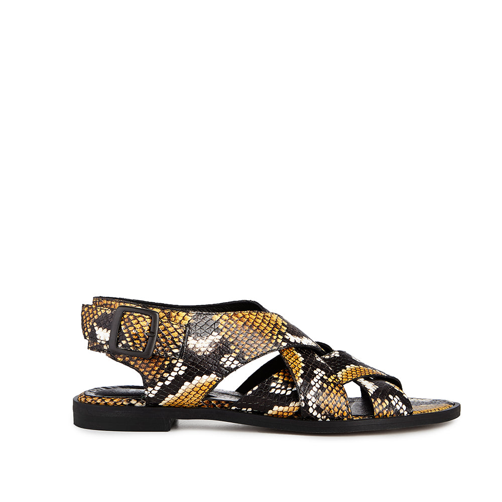 Ivylee Piper Faux Python Yellow