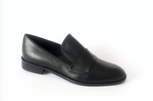 Cervone 399 Black Leather Loafer