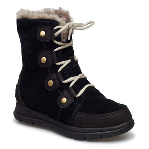 Sorel Explorer Joan Black Dark Stone