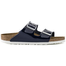 Birkenstock Arizona BF Patent Dress Blue