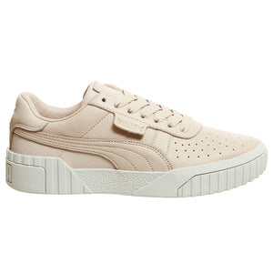 Puma Cali Embossed Cream Tan