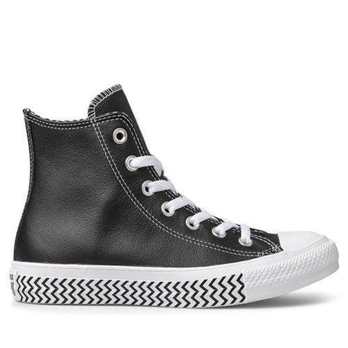 Converse CT Mission V Hi Black Leather