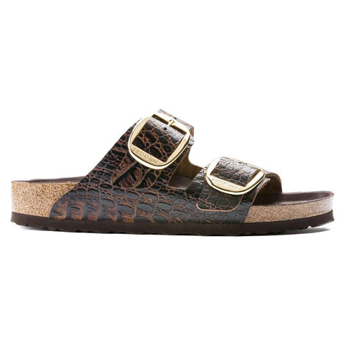 Birkenstock Arizona Big Buckle Gator Brown