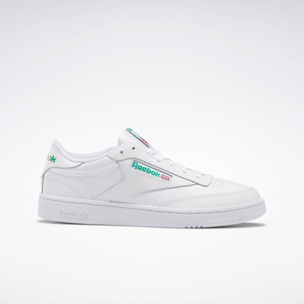 Reebok Club C 85 White/Green AR0456 Unisex