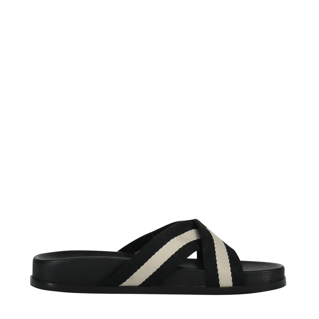 Saben Stella Slides White & Black