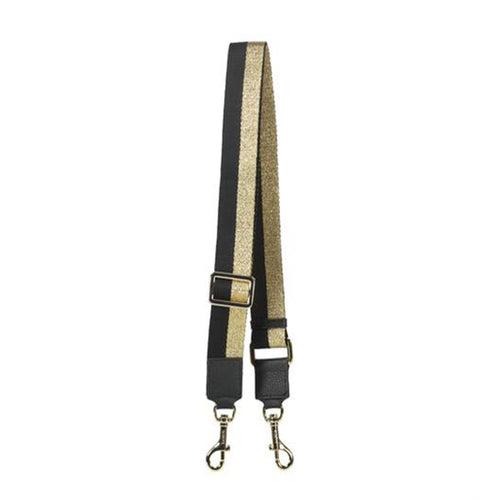 Saben Feature Strap Gold & Black Stripe
