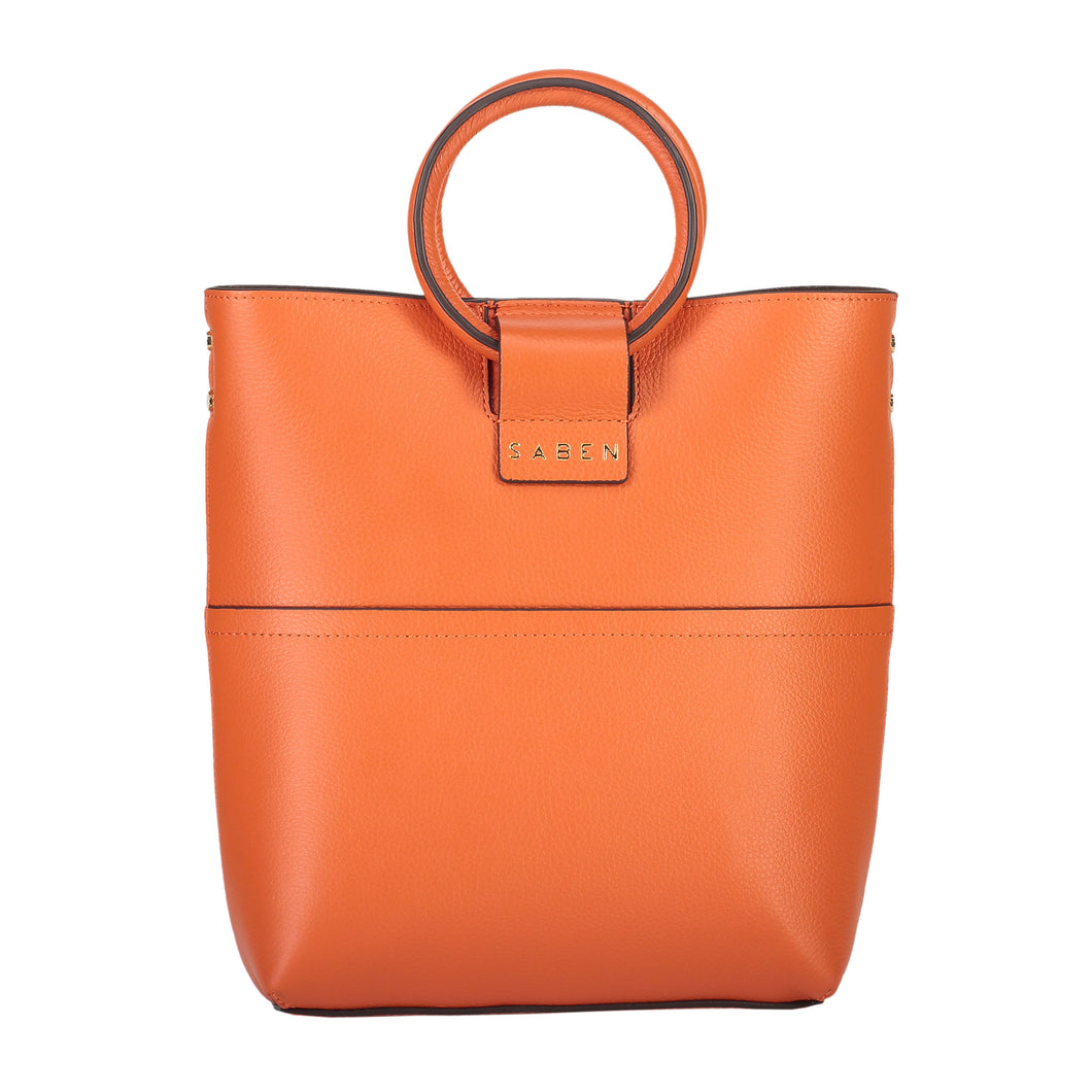 Saben Tabbie Orange Leather