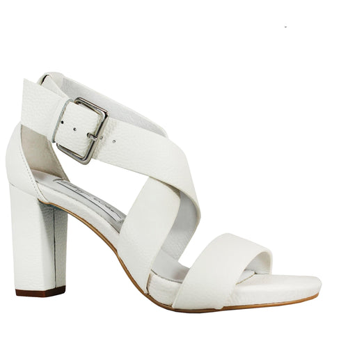 Kathryn Wilson Wedded Bliss Heel White Leather
