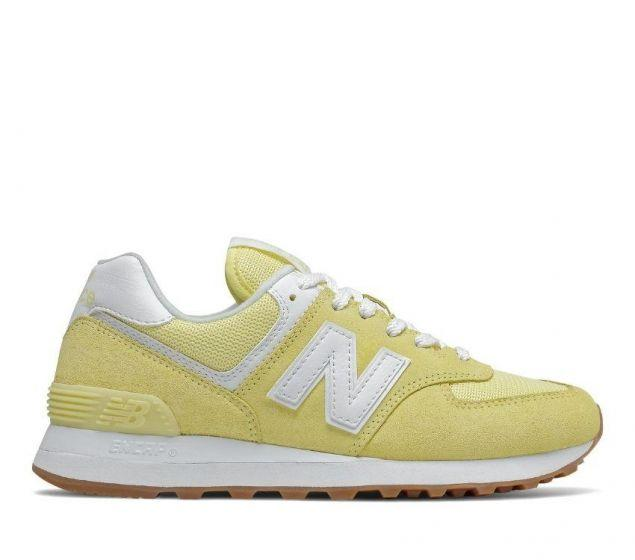 New Balance WL574PK2  Yellow