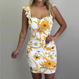 3XL 4XL 5XL Plus Size Dress Summer Sexy Off Shoulder Backlesss Short Mini Party Dresses Women Slim Bodycon Print Dress Vestidos