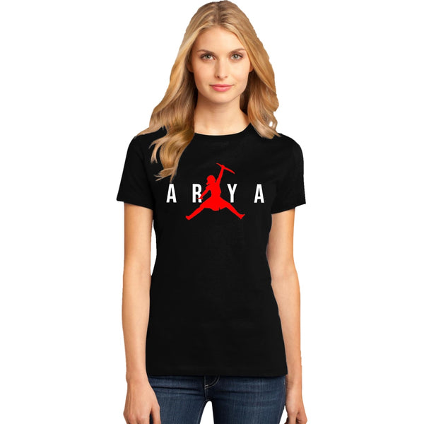 ARYA Tshirt Game Of Thrones t shirt Women T-shirt Casual  Harajuku summer tshirts Camiseta mujer NOT TODAY women tees tops 2019