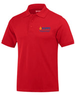 Fourth Grade Short Sleeve Polo- Red