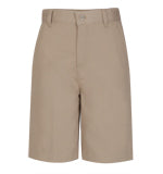 Boys Easy Fit Flat Front Short
