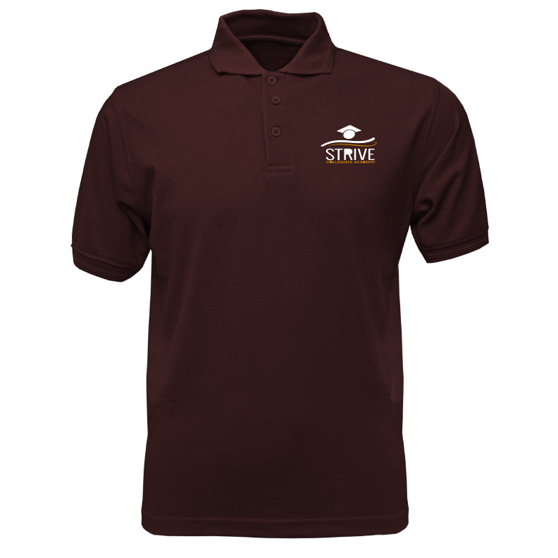 Burgundy Short Sleeve Polo