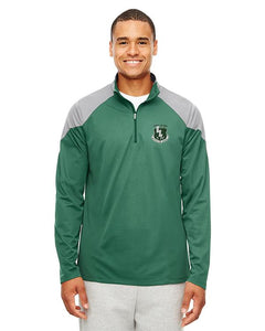Men's 1/4 Zip Pullover Color Block