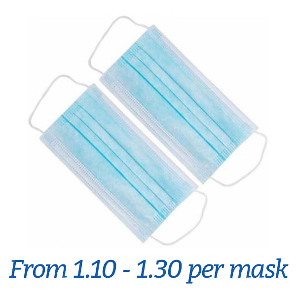 FDA Approved 3 Layers Disposable Mask