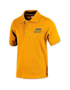 Kindergarten Short Sleeve Polo- Gold