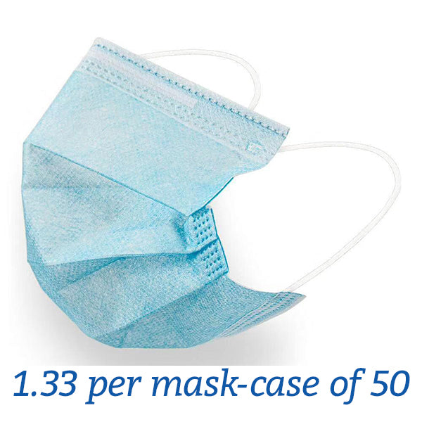Pleated Disposable Masks