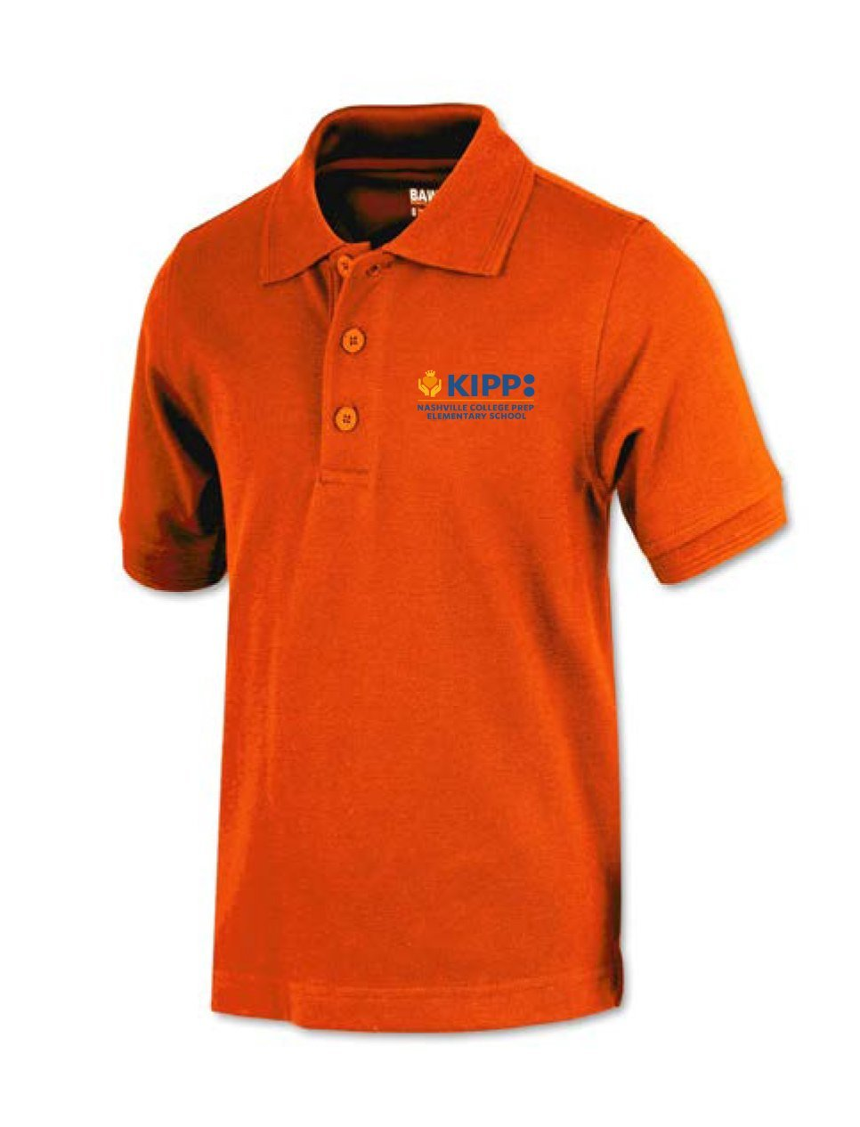 Second Grade Short Sleeve Polo - Orange