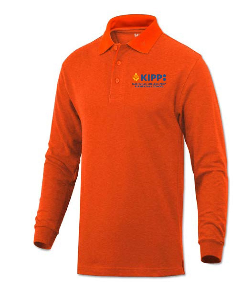 Long Sleeve 1st Grade Polo