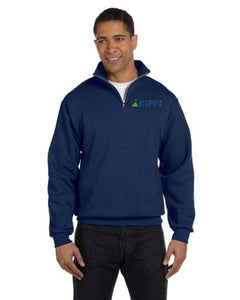¼ Zip Blue Sweatshirt Adult