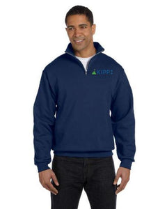 ¼ Zip Blue Sweatshirt